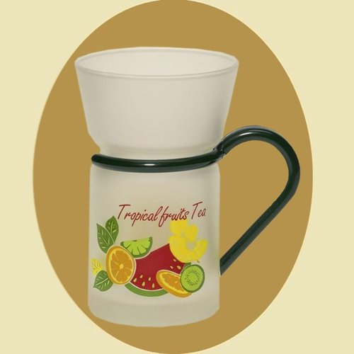 "Teeglas ""Tropical-Fruits"